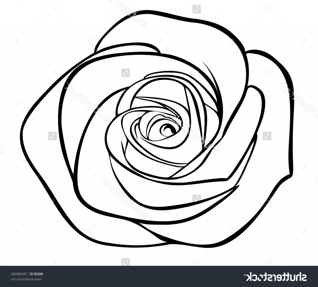 1024x925 Rose Drawing Outlines Rose Drawing Outline Pacykebumennewsco