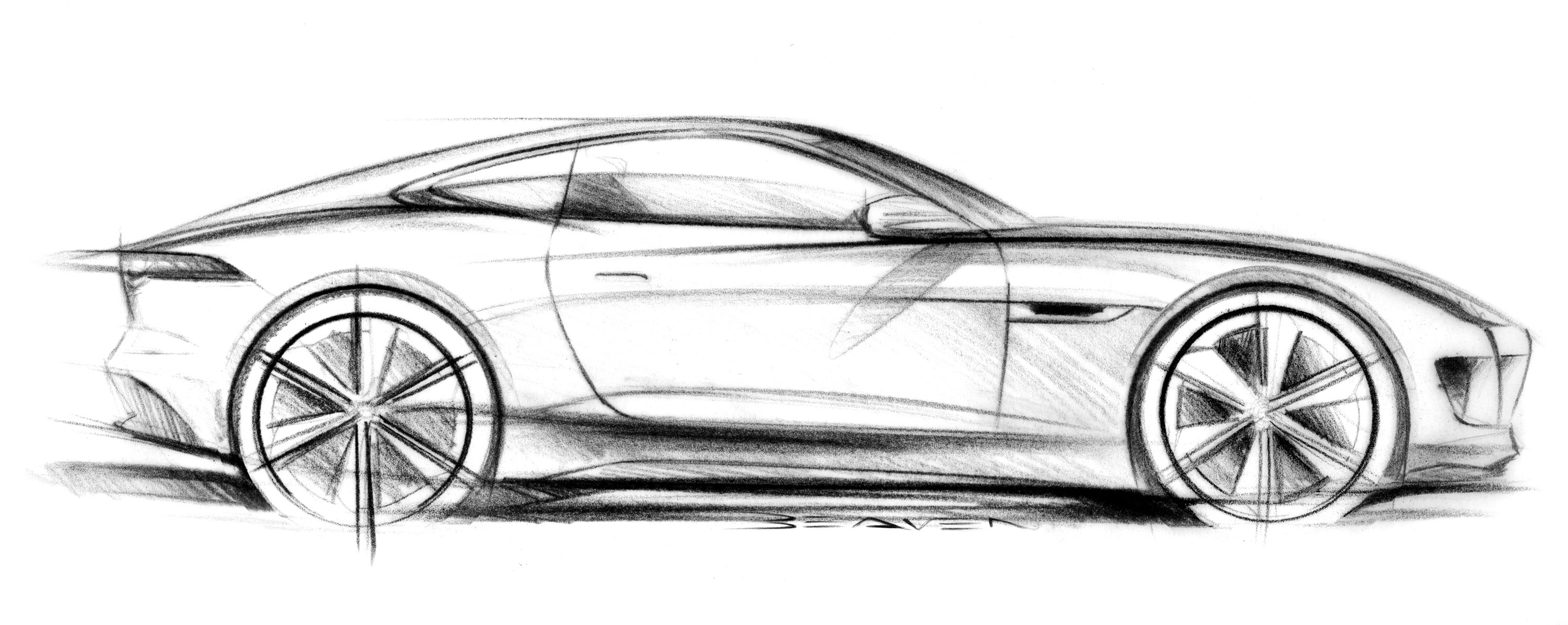 3000x1195 drawings of cars in pencil easy how to draw a car ferrari pencil