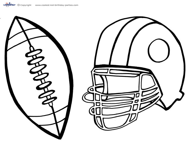 777x600 Football Line Drawing Collection