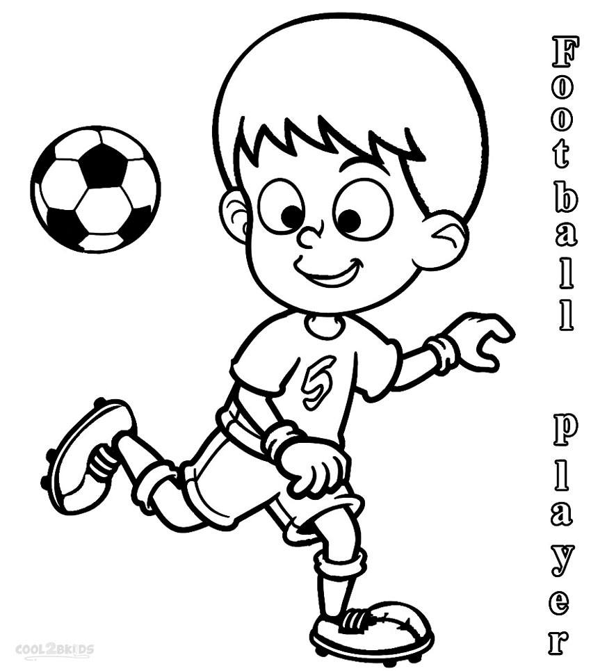 850x965 Printable Football Player Coloring Pages For Kids Cool2bkids