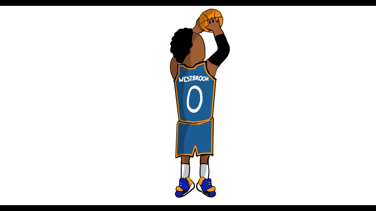 1280x720 Russell Westbrook Speed Draw