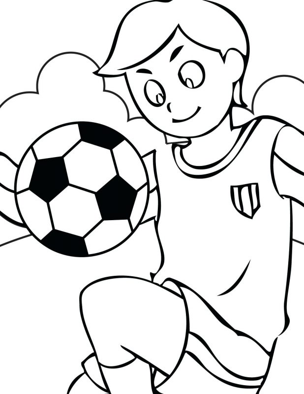 618x800 Stunning Football Field Coloring Pages With And Printable Free