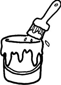 200x277 Paintbrush Drawing