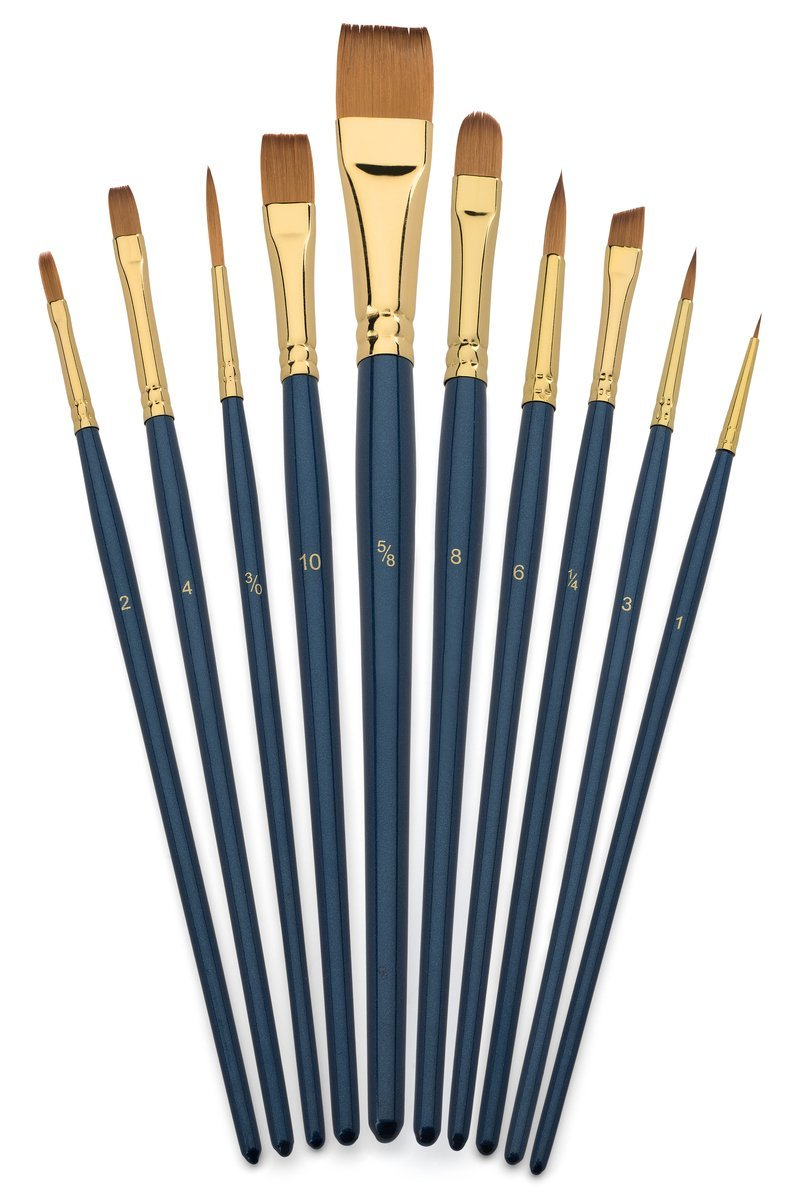 805x1200 Art Brush Set Watercolor And Acrylic Artist Paint