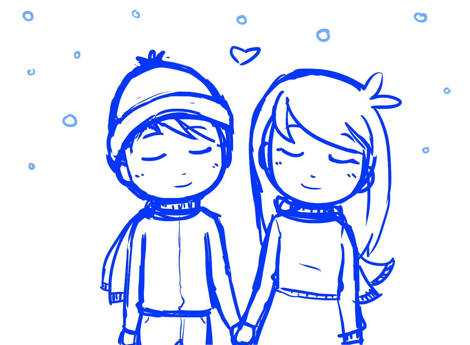 1500x1100 cute anime couples holding hands sketch cute anime couple holding