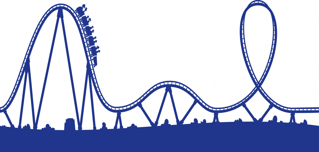 1024x488 Roller Coaster Drawing