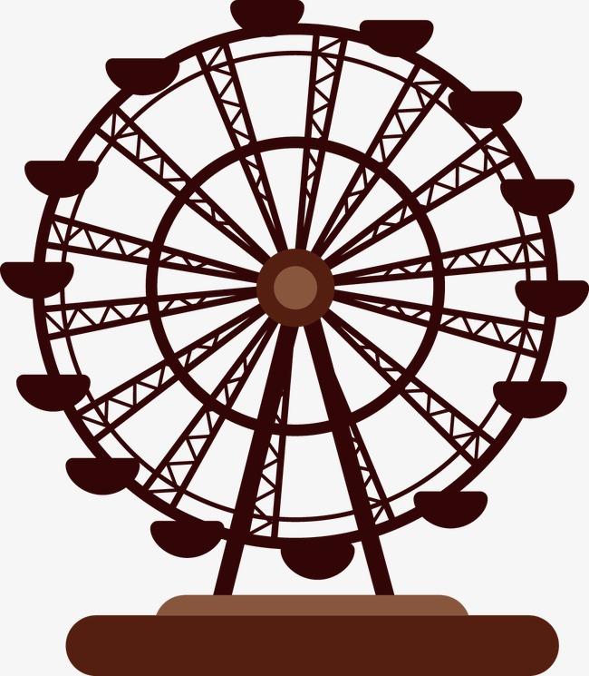 650x745 Ferris Wheel, Amusement Park Facilities Banner Free Downloads