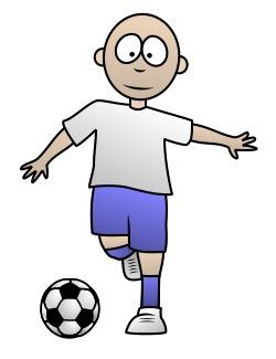 250x325 Drawing A Soccer Cartoon Player