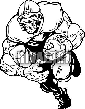 282x361 Football Player Clipart Outline Clipart Panda