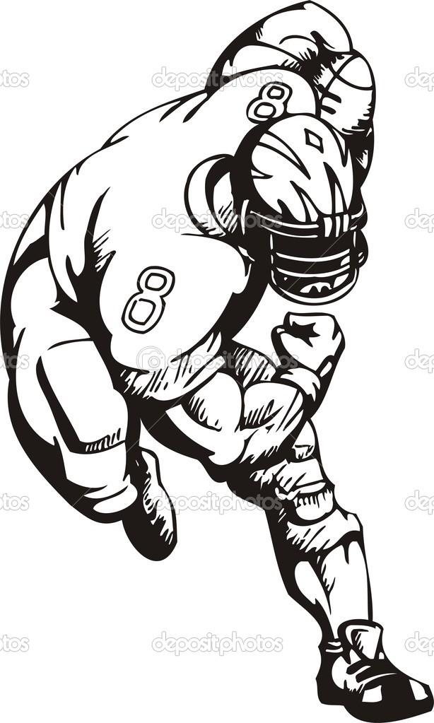 614x1023 Football Tackle Clipart 101 Clip Art