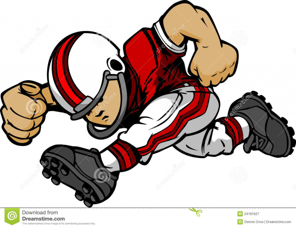 1024x790 Cartoon Drawings Football Players Cartoon Images Of Football