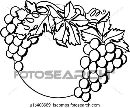 450x373 Clip Art Of , Autumn, Border, Fall, Fancy, Food, Frame, Fruit
