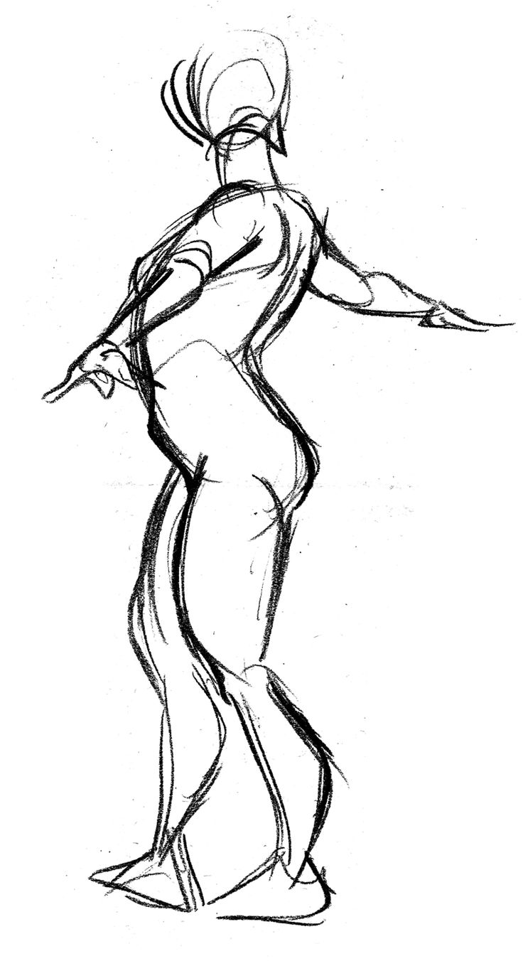 736x1352 100 Best Figuregesture Drawing Images Model