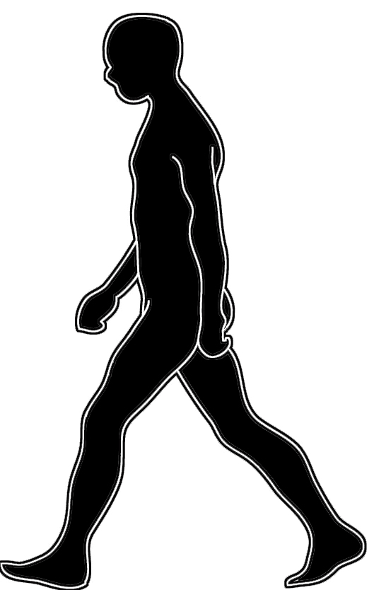 529x834 Drawings Of People Walking