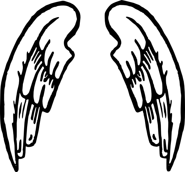 600x560 Angel Wings Tattoo Clip Art