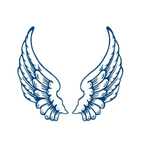 600x600 16 Best Angel Wings Images Angel Wings, Drawings