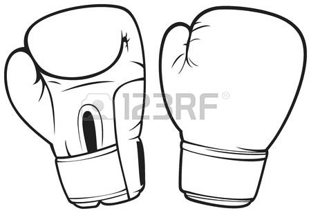 450x309 Boxing Glove Clipart