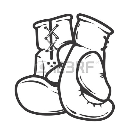 450x450 302 Gloves For Boxing Stock Vector Illustration And Royalty Free