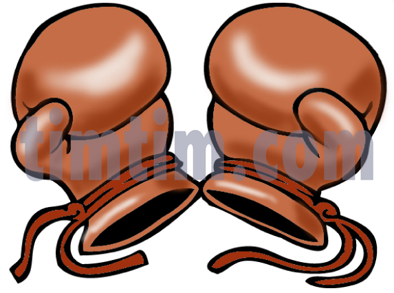 573x426 Free Drawing Of Boxing Gloves From The Category Sports