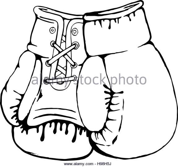 575x540 Hand Drawn Illustration Drawing Boxer Stock Photos Amp Hand Drawn