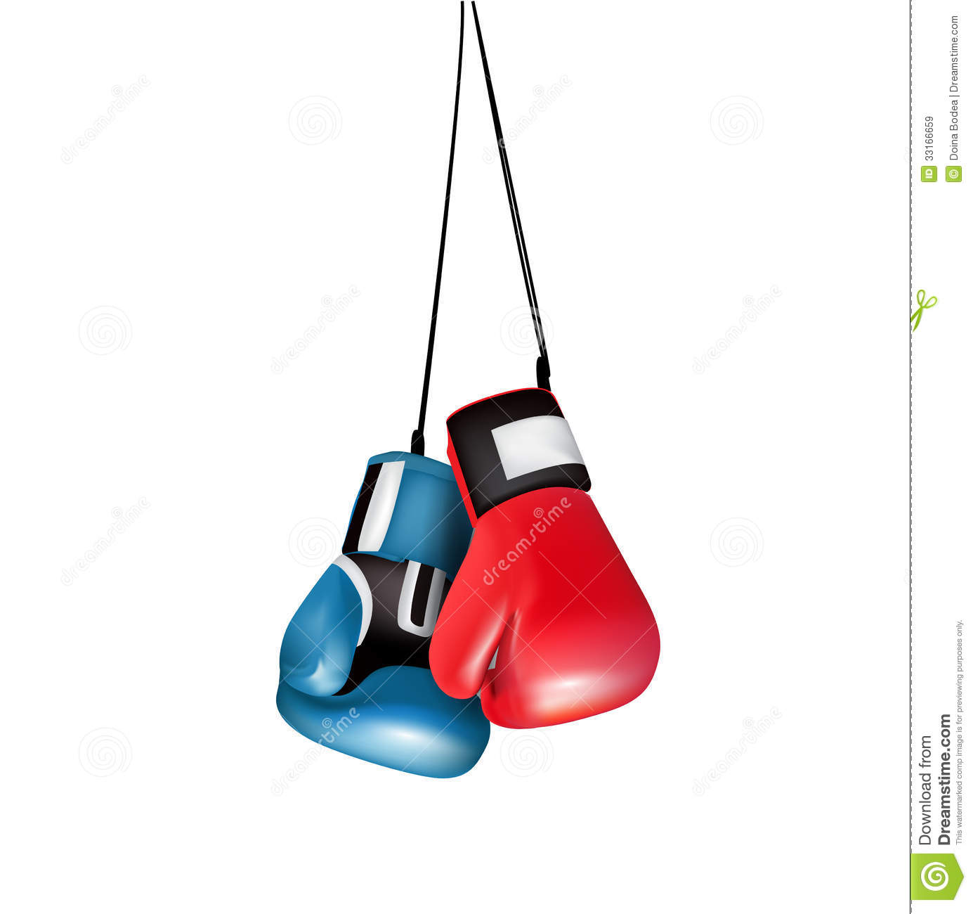 1385x1300 Hanging Boxing Gloves Clipart