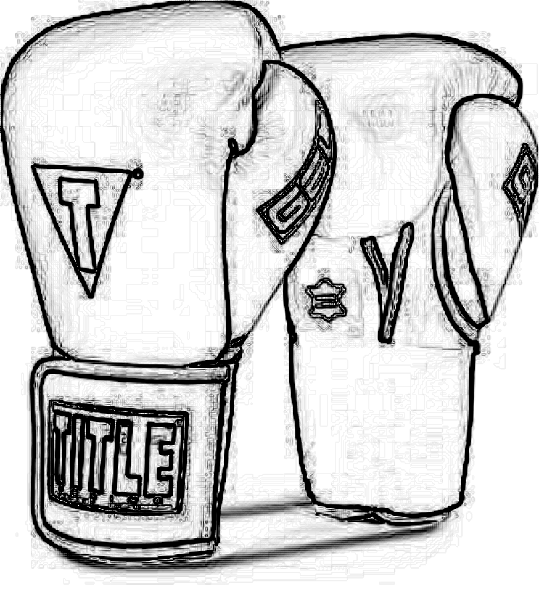 1748x1920 Title Boxing Gloves Draw Title Boxing Club