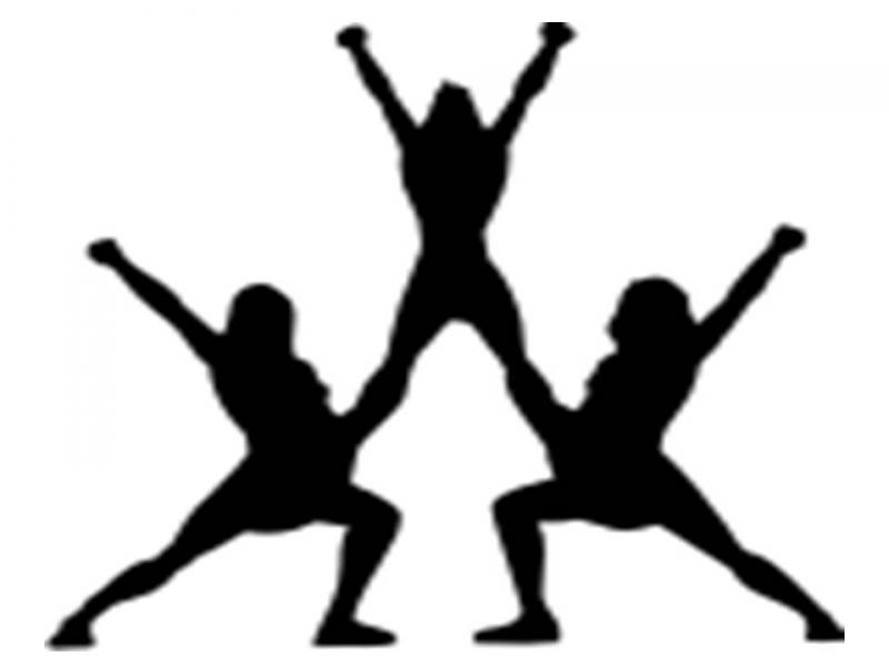 800x600 Stunt Clipart Cheer Competition