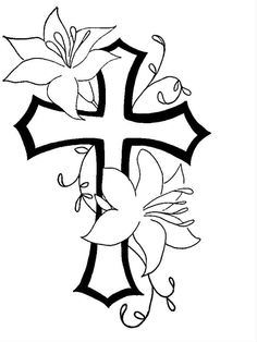 236x314 An Idea For The Cross Tattoo That I Want. But A Butterfly Not
