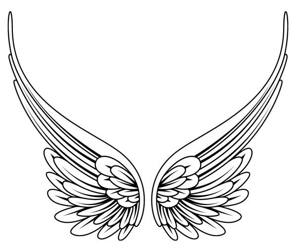 600x497 Best Heart Wings Tattoo Ideas Heart Wings, Wing