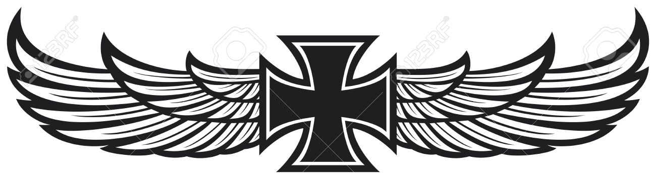 1300x356 Best 25 Cross Wings Ideas On Cross, How To Draw A Cross