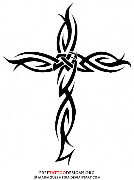 450x602 50 Cross Tattoos Tattoo Designs Of Holy Christian, Celtic