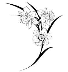 236x248 Delicate Daffodils