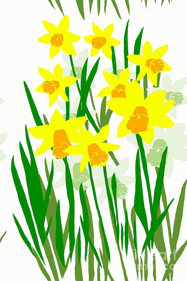 600x900 Drawings Of Daffodils Group