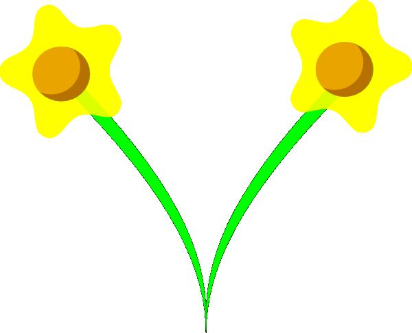 600x485 Tom Daffodil Clip Art