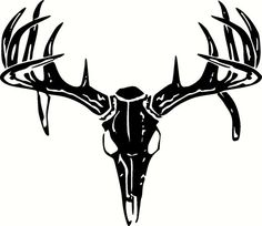 236x204 Whitetail Deer Skull Tattoos Art Nouveau Deer
