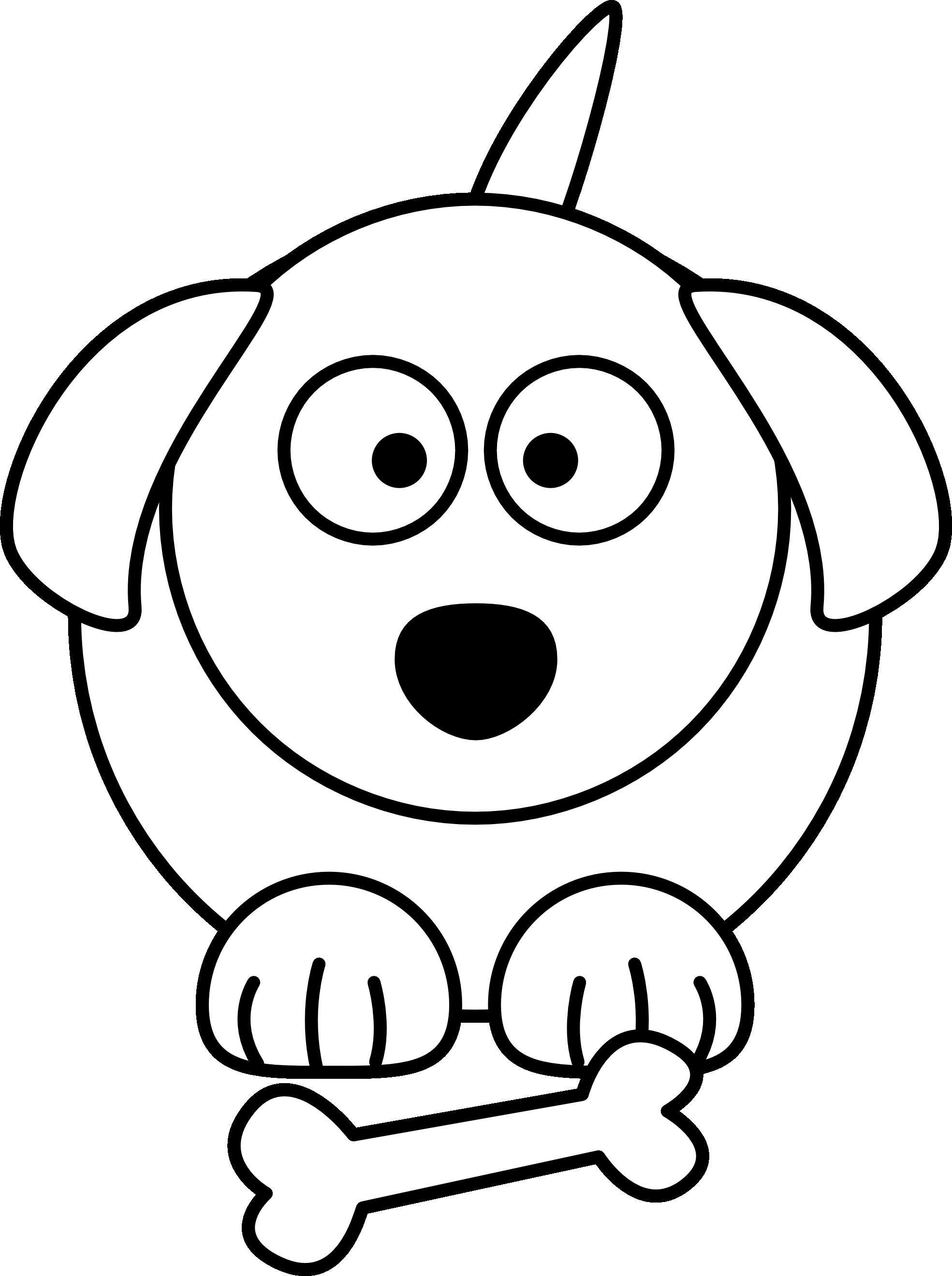1969x2640 Cartoon White Dog