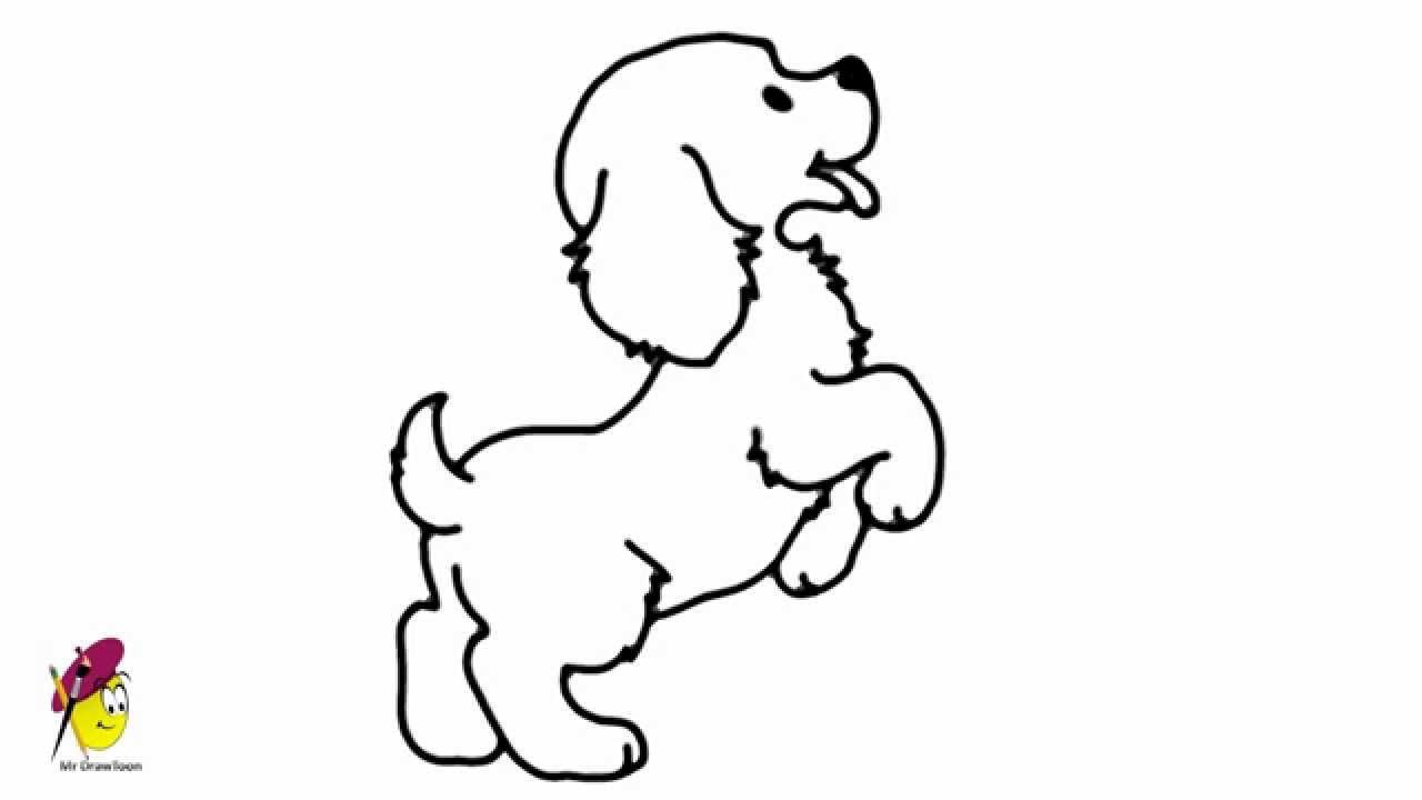 1280x720 Standing Baby Dog