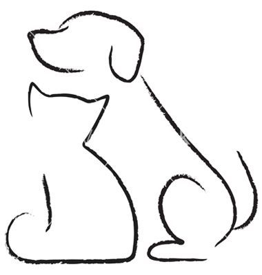 380x400 Cat And Dog Drawings Dog Ant Cat Icon Vector 677767 By Yuliaglam