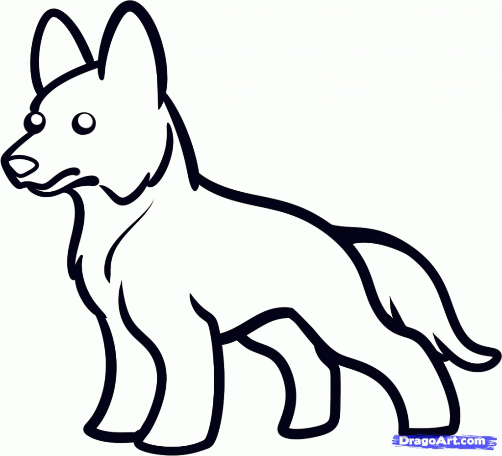 1024x930 Amazing Easy Dog Drawings 86 About Remodel Design Pictures
