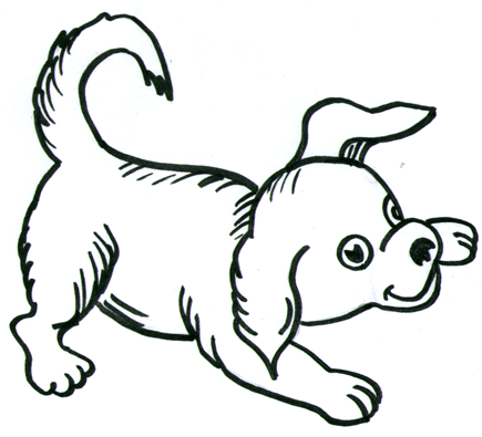 435x395 How To Draw Dogs Step By Step Cartooning Drawing Tutorial For Kids