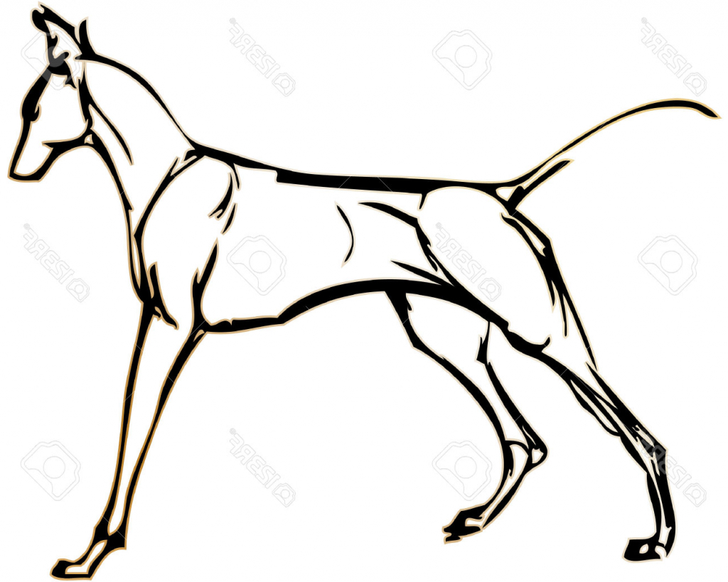 1024x819 Simple Drawing Of A Dog Simple Drawing Of Dogs Clipart Best