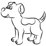 150x150 Simple Line Drawings Of Dogs Simple Line Drawing Of A Dog Free