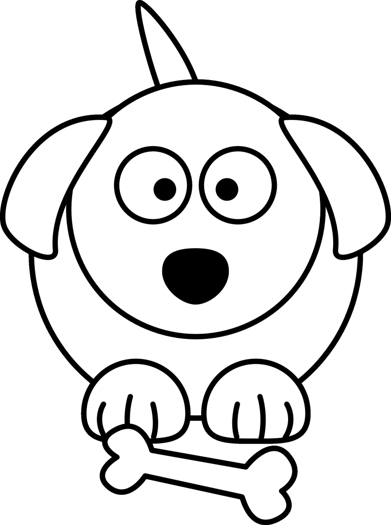 764x1024 Cartoon Drawing Of A Dog Drawings Of Dogs