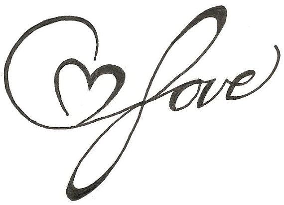 570x411 Heart Drawings
