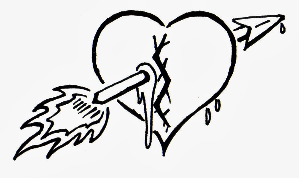 1024x609 Drawn Hearts Broken Heart