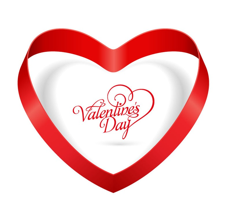 778x768 Clipart Free Ribbon Valentine