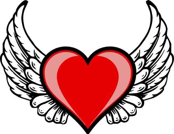 600x461 Drawings Hearts