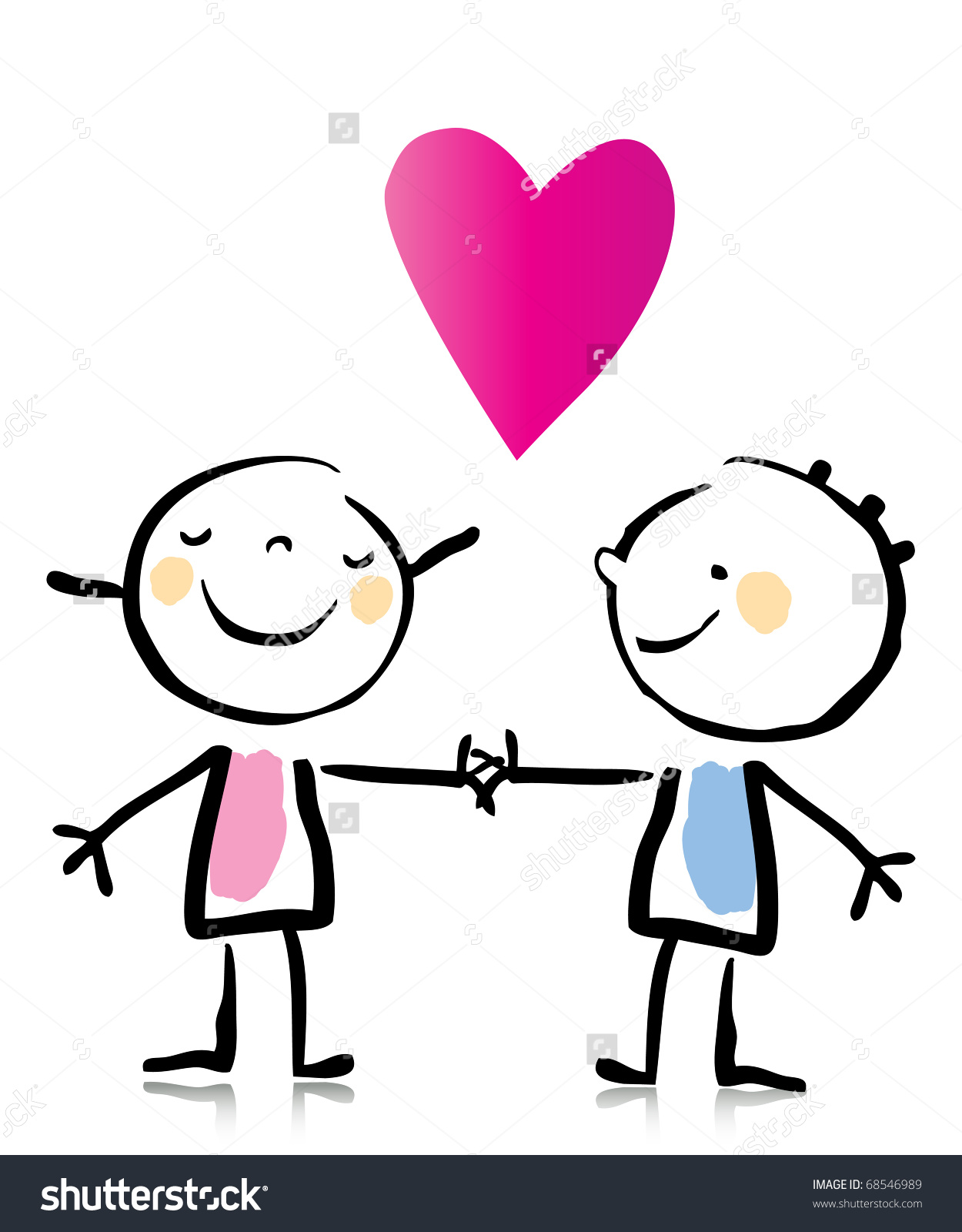 1250x1600 valentine s day two people in love holding hands cartoon