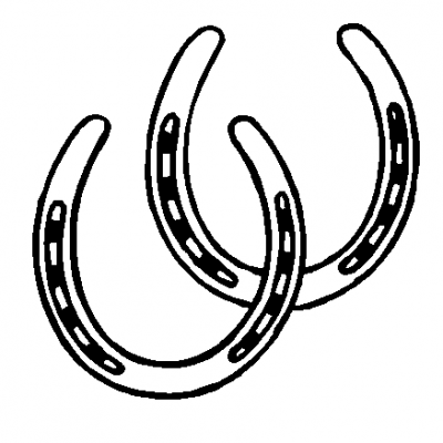400x400 Drawn Horseshoe Horse Heart