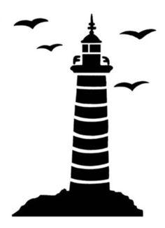 236x326 Free Lighthouse Stencil Free Stencils Stenciling